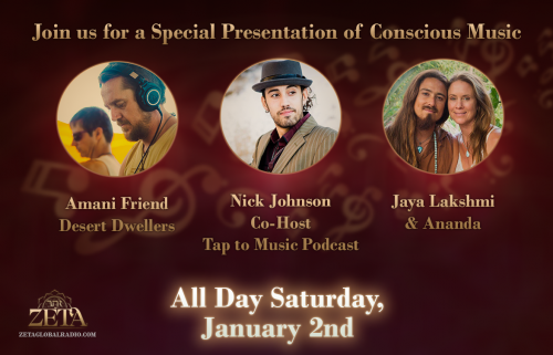 A Special Presentation with some of the hottest spiritual and conscious musicians today
