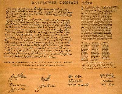 Mayflower Compact 1610