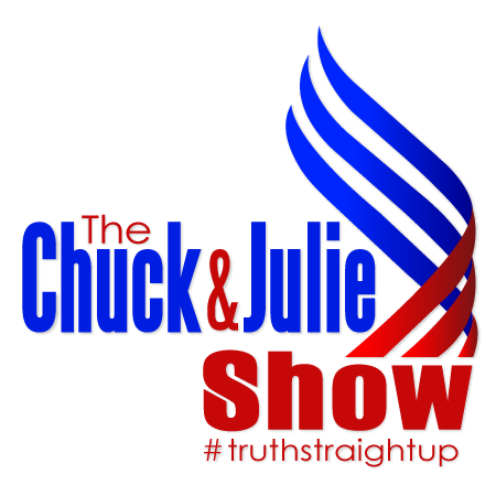 Chuck and Julie hosting The Chuck & Julie Show
