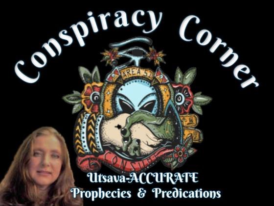 SpirituallyRAW Ep 363 Conspiracy Corner with Famous Psychic Medium Utsava-ACCURATE