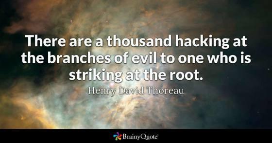hacking evil