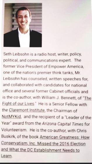 Seth Leibsohn!