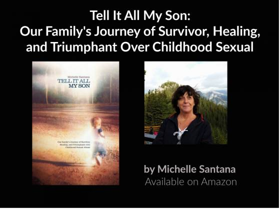 SpirituallyRAW Ep 356 Tell It All My Son (Part 2) with Guest, Michelle Anna Marie Santana, Advocate For Children Who Survived Childhood Sexual Abuse