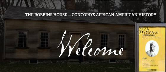 The Robbins House, in Concord, MA, Concord's African American History Site
