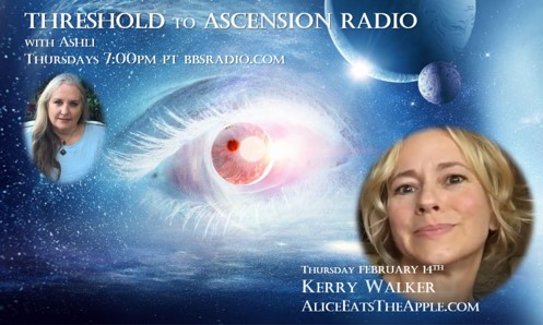 Kerry Walker on Threshold to Ascension Radio