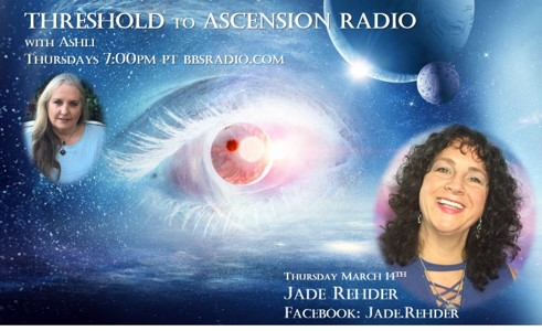 Jade Rehder on Threshold to Ascensnion Radio