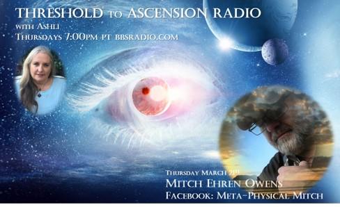 Mitch EHREN Owens on Threshold to Ascension Radio
