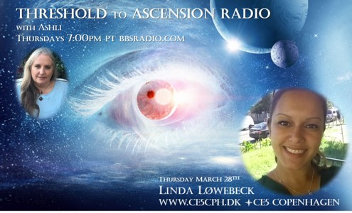 Linda Lowebeck of CE5 Copenhagen on Threshold to Ascension Radio