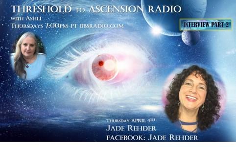 Jade Rehder on Threshold to Ascensnion Radio