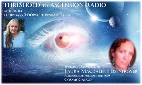 Laura Eisenhower on Threshold to Ascension Radio