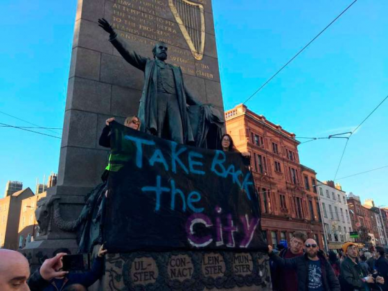 Anti-Eviction Protest, Dublin, September 12, 2018