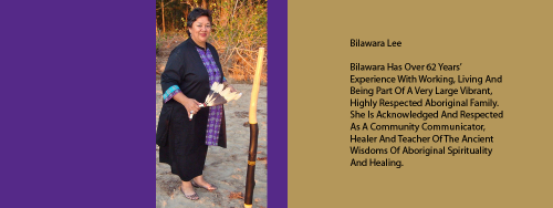 Author and Aboriginal Elder Bilawara Lee